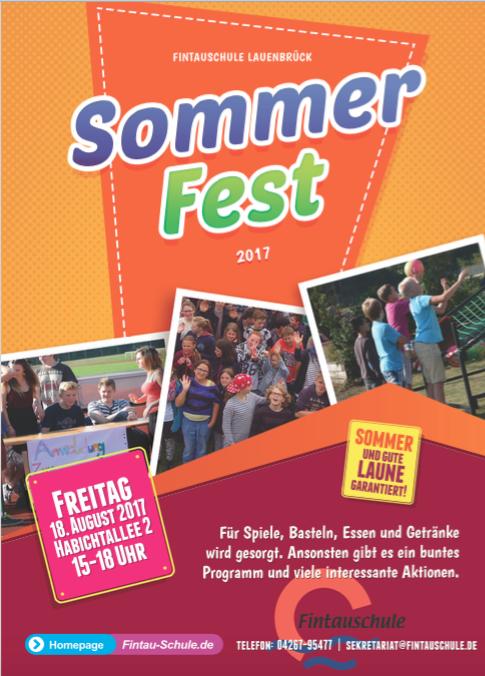 EInlaudung Sommerfest